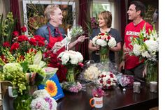 #HomeandFamilyTV @Michael Gaffney offers tips on how to make a #romantic impression with #flowers!