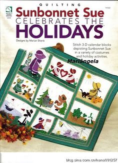 Sunbonnet Sue celebrates the Holidays - Book