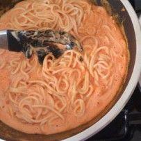 Espagueti al Pimiento