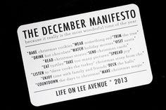 Project life - filler card inspiration