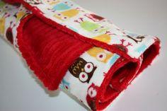 30 minute, super easy to sew minky blanket tute