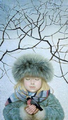 Bullfinch - Alexandra Nedzvetckaya
