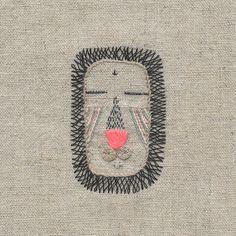 Lion mask - Miga de pan