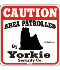 So true...My intimidating guard yorkies!
