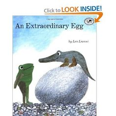 Jessica, the frog with a big sense of wonder, discovers an egg. This book makes ME laugh every time I read it!
