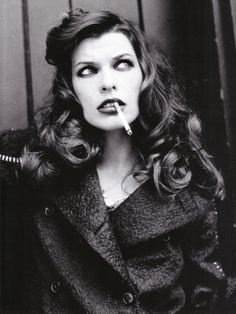 Milla Jovovich. ( Main Girl in Resident Evil) Saying she's a badass pretty much just sums it up.