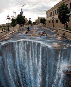 amazing street art  this is so amazing.