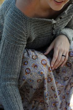 Knit pattern: Waipi'o Cardigan.
