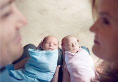twins!! newborn photography