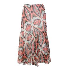 Shyanne® Women's Abstract Print Fishtail Skirt