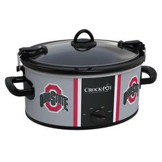 Ohio State Buckeyes Collegiate Crock-Pot® WOW!!!!! This would make anything taste better! :)