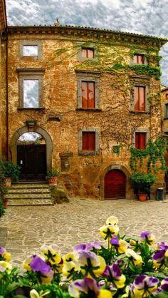 Ancient, Civita di Bagnoregio, Lazio, Italy  photo via adam