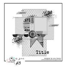 Scrap & Music: Sketch #3...Feel so Close sketch scrapbook, ana castro, scrap sketch, layout, sketch challeng, sketches, scrapbook pages, scrapbook sketch, scrap music