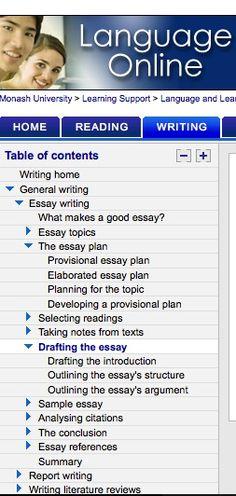 Good essay plans