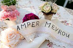 Sash for the bride