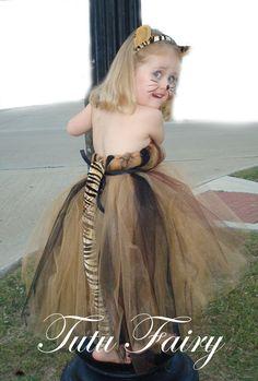 Tutu Fairy: Tiger Halloween Tutu Costume