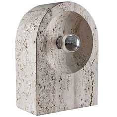 // Travertine lamp / Nucleo for Sormani
