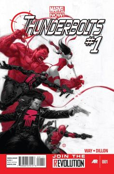 Thunderbolts - Marvel Now