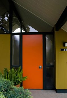 Entry - Eichler  door