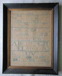 Quaker Alphabet Sampler