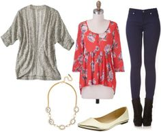 Metallic trend outfit