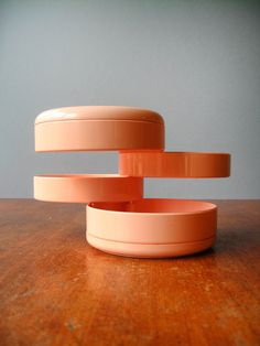 Vintage Mod Italian Plastic Organizer - Pirovano Design