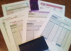 Check out this FREE printable budget binder and printable budget worksheets to help keep you and your family on the right financial track.