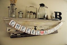 Bachelorette Banner  Cheers Bitches  Party by GreenJazzFace, $25.00