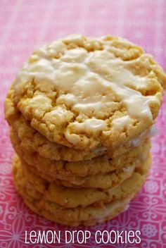 Lemon Drop Cookies | Cocinando con Alena