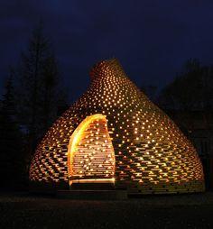 Norwegian storytelling hut