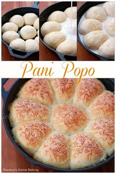 Homemade pani popo -