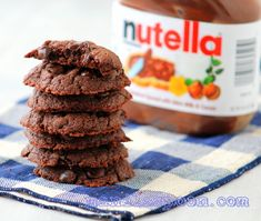 Manila Spoon: 4-Ingredient Nutella Cookies - so quick, easy and utterly scrumptious!!!