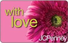 JC Penney Flowers Gift Card $25.00