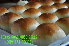 Texas Roadhouse rolls copycat recipe | www.you-made-that.com