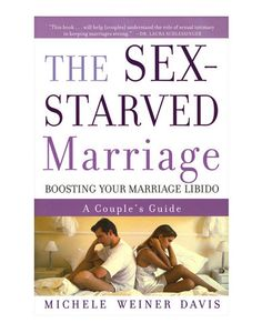 Bring the spark back!The Sex Starved Marriage is a 5.5in x .5in x 8.5in adult softbound book. The 200-page book will help to give you advice and tips on making your marriage as hot and passionate as when you both met. Learn why couples sex drives diminish and the statistics on most couples. Find out about the difference between you and your partners sex drive and the steps to bring your sex life where you both want it. Boosting your marriage libido!