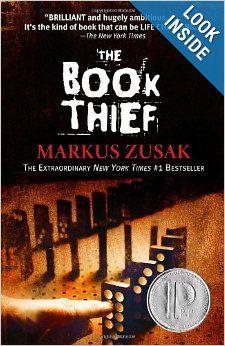 The Book Thief: Markus Zusak: 9780375842207: Amazon.com: Books book club, books, the book thief book, read rainbow, book worth, favorit book, read problem, bookclub, markus zusak