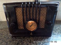Emerson Brown Bakelite Radio 1933 Model U4B   eBay