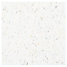 Armstrong�12-in x 12-in Harlequin White Speckle Pattern Commercial Vinyl Tile