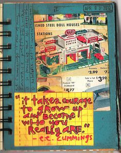 094 / 366 Art Journal Pages by coreymarie♥com, via Flickr