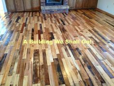 What an incredible pallet repurposing idea - beautiful wood floors! This is a project to definitely see, even if you don't plan to have new floors as it provides so much inspiration for old pallets and ways to use old pallets.  Great job  @bobesue