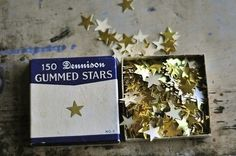 Gold Star...before we had stickers.