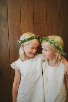 boho flower girls // photo by Tessa J