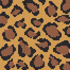 leopard print stitch