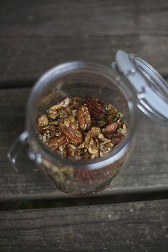 spiced grain-free granola