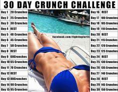 {30 Day Crunch Challenge}