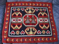 Swedish vintage Flemish woven tapestry
