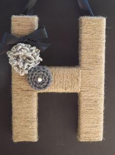 Monogram  Wreath by TheEducatedOwl on Etsy, $21.00