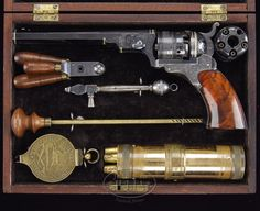 Engraved Colt Paterson Belt Model Revolver (Serial No. 566)  (Est. $275,000-$500,000)