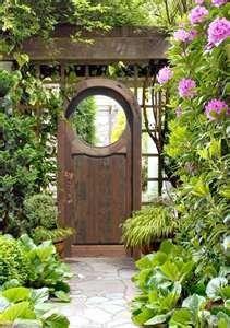 Wooden Garden Gates - Garden Gates - Gates - Entrance Gates - Solid ... - Click image to find more Gardening Pinterest pins