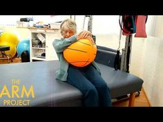 Stroke Nation | Stroke Recovery Exercise | Beach Ball Core Strengthening...